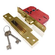 British Standard 5 Lever Mortice Sashlocks